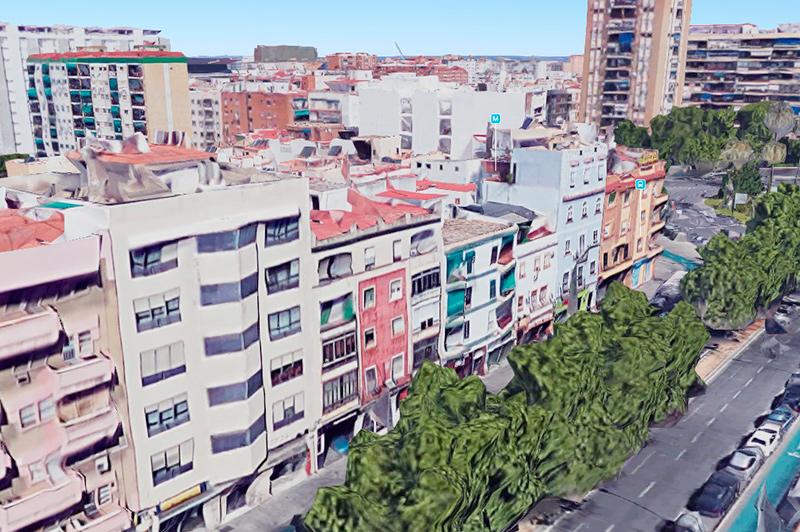 Ciudad Jardín (Nervión – Gran Plaza)